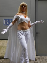 Emma Frost Cosplay Mario Larese