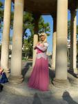vestito Aurora Cosplay Disney