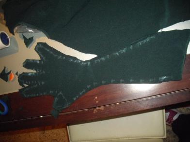 guanti robin cosplay