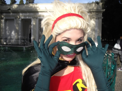 Robin Cosplay Stephanie Brown