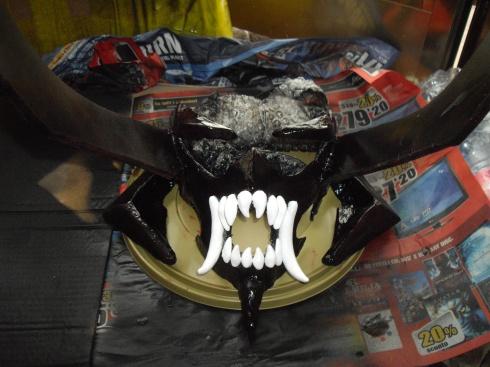 maschera Akumetsu cosplay