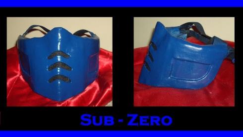 maschera sub-zero cosplay