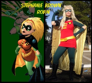 Robin Stephanie Brown Cosplay
