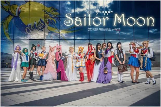 gruppo sailor Romics 2013