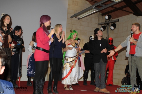 Premiazioni Lecce Cosplay & Comics Maurizio Merluzzo
