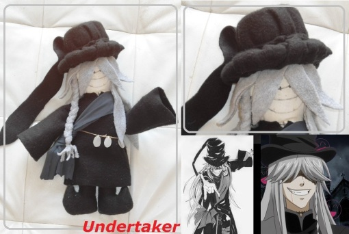 Undertaker plush