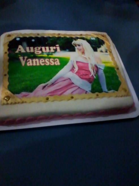torta 29 anni vanessa